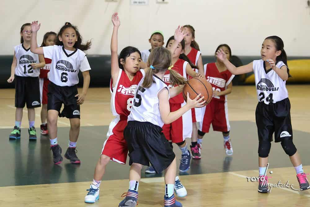 All girls basketball event by little tokyo service center