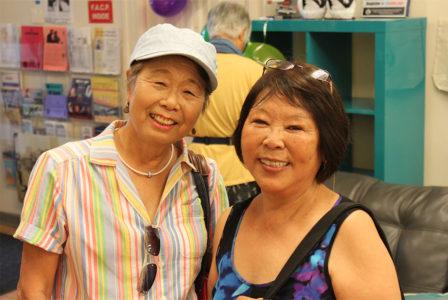Friends gather at FEL for little tokyo service center