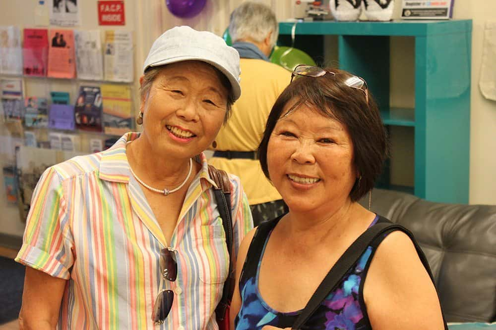 two women for helping seniors event by little tokyo service center
