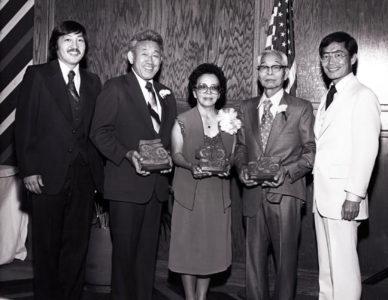 Little tokyo service center awards dinner in 1980