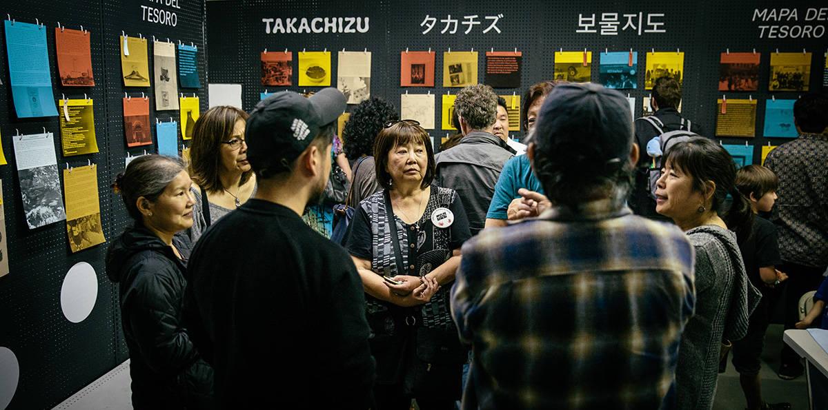 Little tokyo service center Takachizu exhibit for +LAB