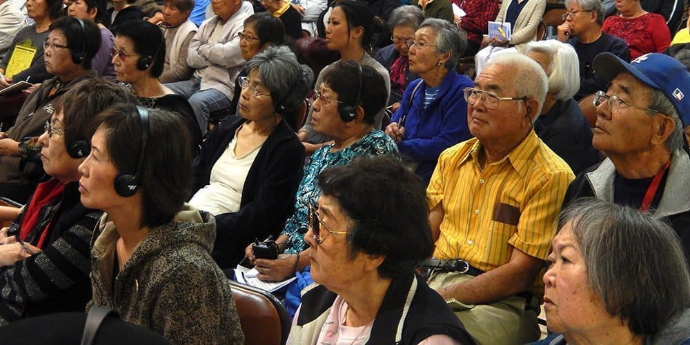 Workshops for Helping seniors event by little tokyo service center