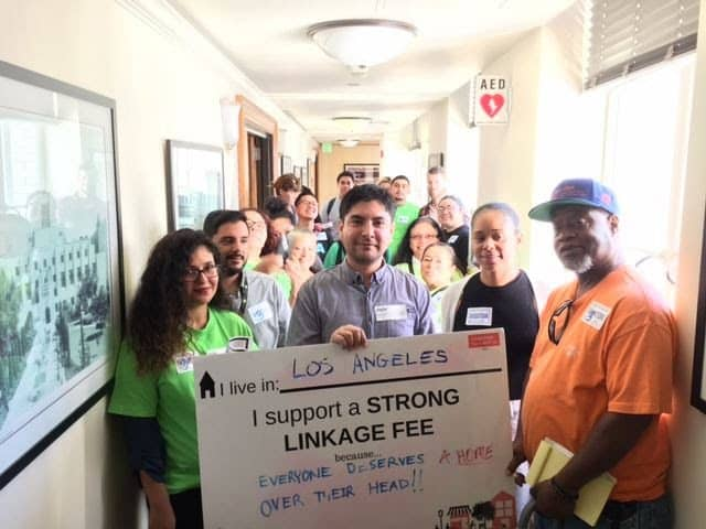 Little tokyo service center and Coalition supports housing measure