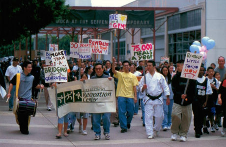 2000 Little tokyo service center Community member marched
