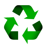 New recycle icon of Little Tokyo Service Center