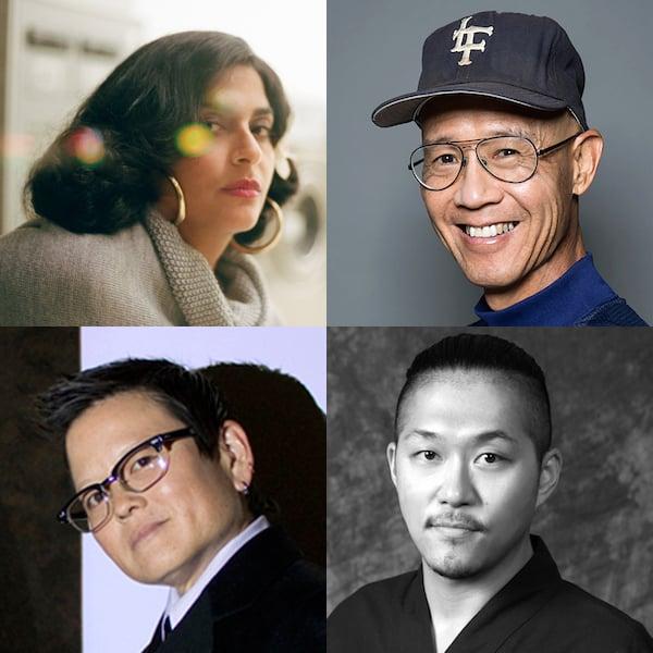 Susu Attar, Dan Kwong, Tina Takemoto and Kuniharu Yoshida