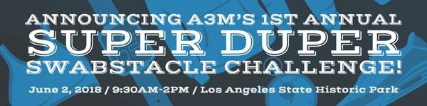 A3M's 1st Annual Super Duper challenge announcement Image Banner