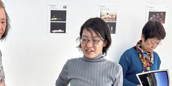 Japanese artist Yukari Sakata