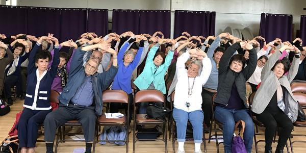 April Alzheimer's prevention seminar by LTSC
