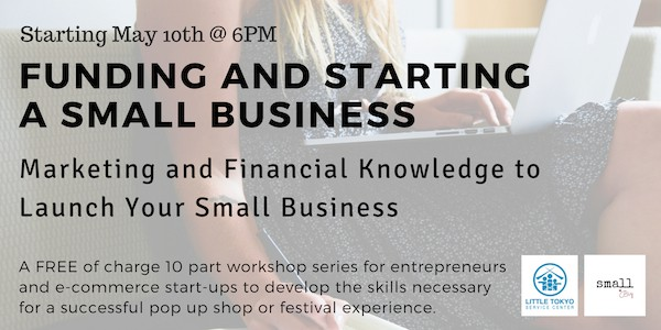 Funding and Starting a small business Workshop
