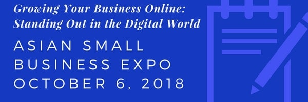 Annual Asian Small Business Expo 2018