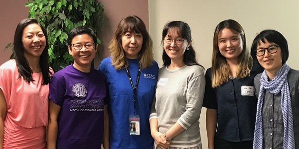 LTSC Participates in Domestic Violence Awareness Activities
