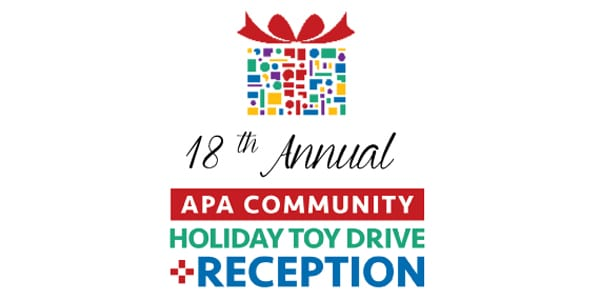 18th Annual APA Community Holiday Toy Drive