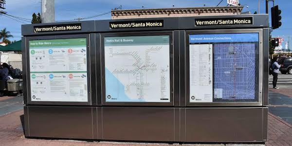 Vermont and Santa Monica Metro Station