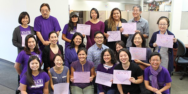 "LTSC Staff Participates in ""Purple Thursday"""
