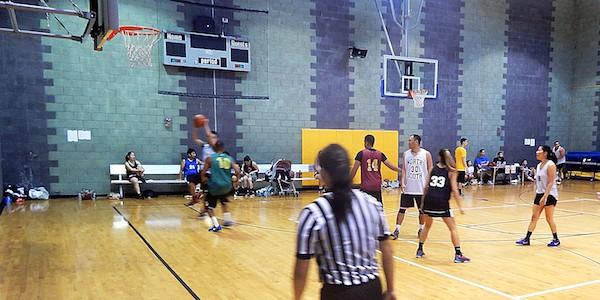 The third annualSanTaiSanco-ed basketball tournament
