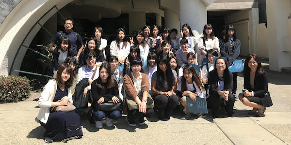 Japanese Students Learn Community-based Approach to Social Services at LTSC