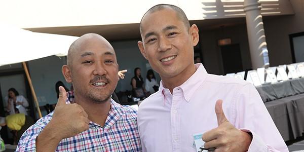Marrow recipients Brandon Ito and Alex Tung