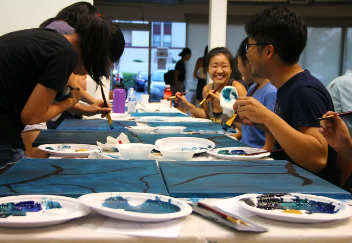 Art, food, friends, and mental health at the Gardena Valley JCI