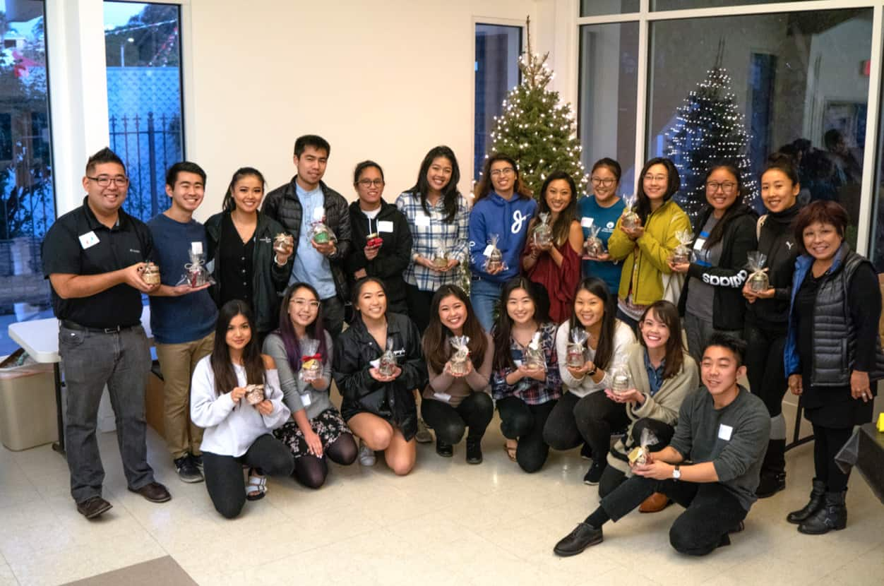 Spreading holiday cheer and mental health awareness through creative candle making