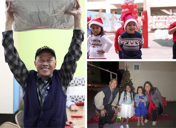 LTSC also held holiday parties at Angelina Apartments and Casa Heiwa