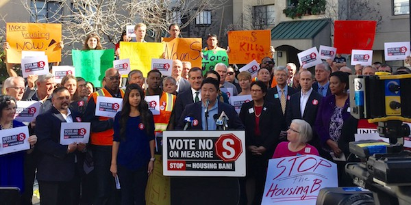 LTSC Urges You to Vote 'No' on S, 'Yes' on H