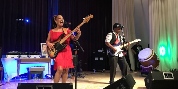 Janice Marie Johnson performs at SOLT2