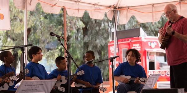 Casa Heiwa youth at Fiesta Matsuri