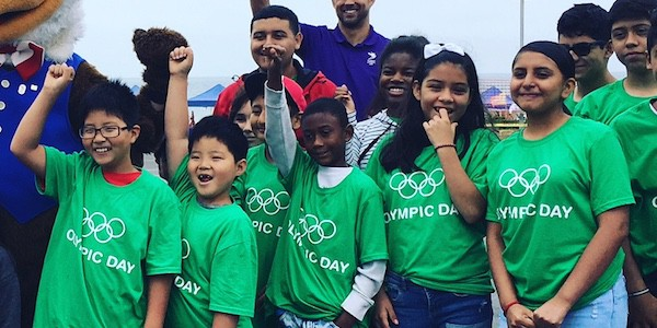 Youth from LTSC Residences Participate in Olympic Day