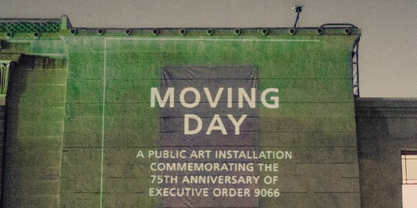 """JANM's """"Moving Day"""" installation"""