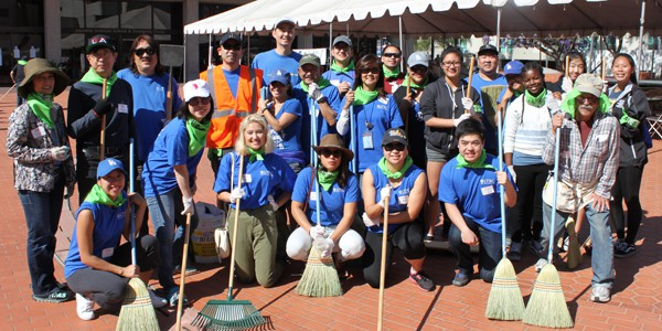 LTSC Joins Community Cleanup