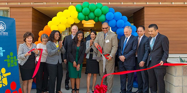 Grand opening of one of LTSC's affordable housing communities