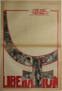 The January 1971 'Women's Issue' of Gidra