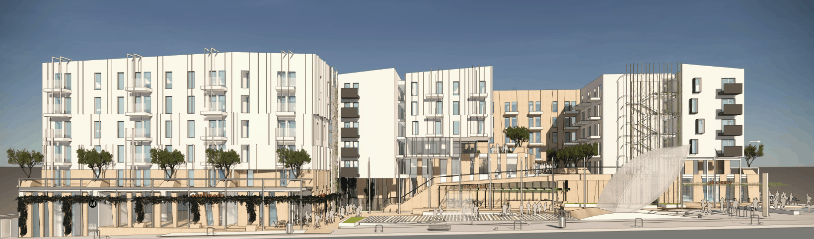 New Renderings of the Vermont/Santa Monica Project