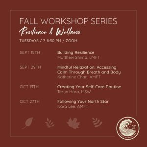 Fall Workshop Series