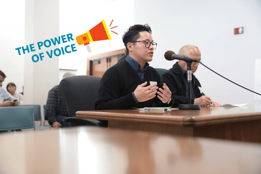 The human voice is a powerful tool