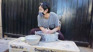 Ceramics Lessons by Shoshi Watanabe, Zakka Bakka, Owner Shoshi Watanabe