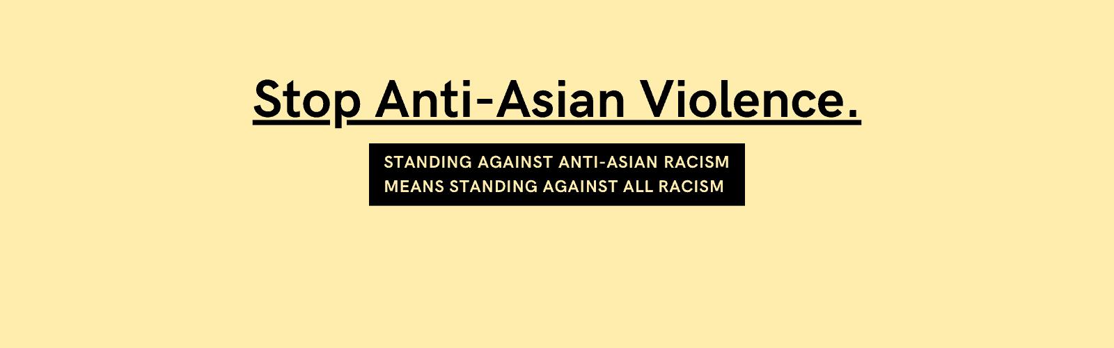Stop Anti-Asian Violence