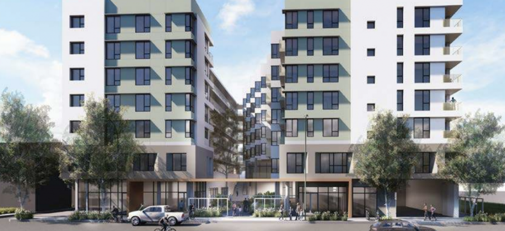 Rendering of Crocker Apartments