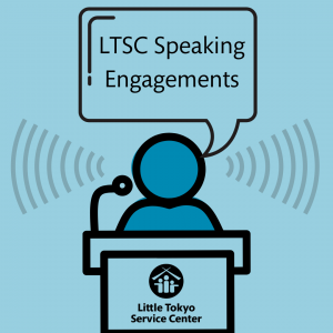 Title text: LTSC speaking engagements