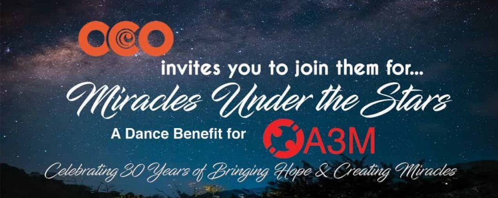 flyer for miracles under the stars