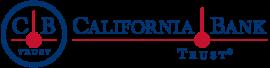 logo: california bank and trust