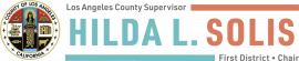 Logo: County Supervisor Hila L. Solis