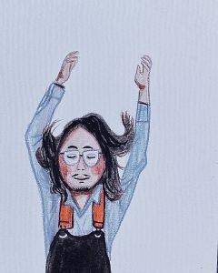 illustration of Yohei
