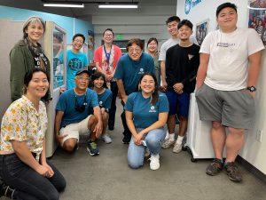 LT Eats volunteers and staff