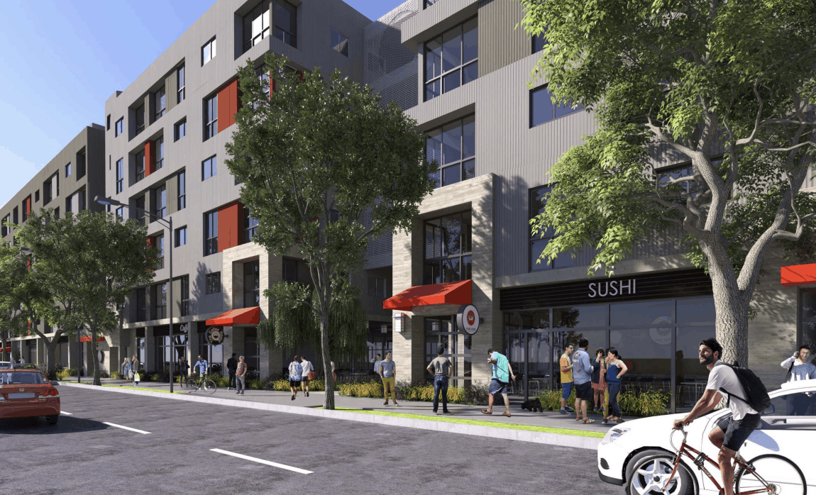 rendering of go for broke apartments